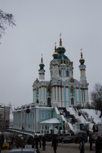 Київ: Андріївська церква