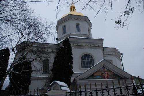 Київ: Ілінська церква