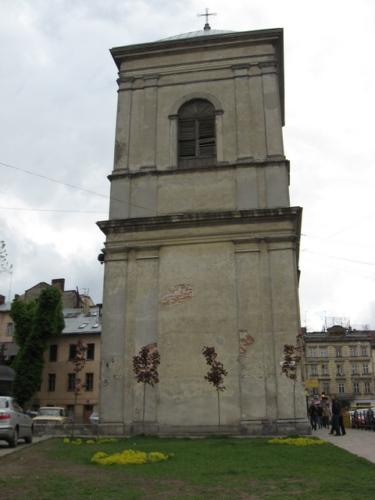 Львів: Дзвіниця монастиря Бернардинів