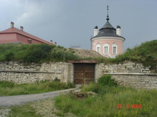 Золочів: Бастіонні укріплення